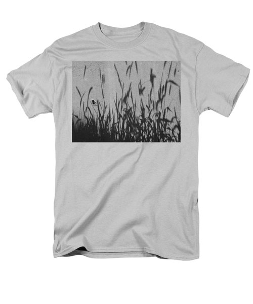 Men's T-Shirt  (Regular Fit) featuring the photograph Nature As Shadow by Lenore Senior