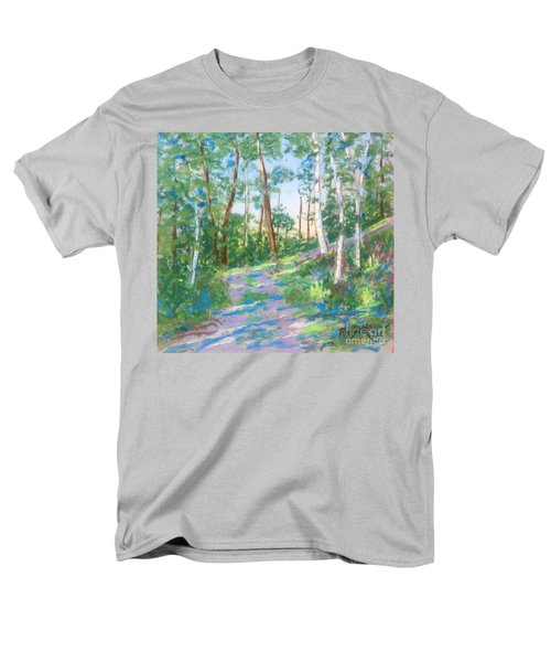 Near The Dingle Tower Halifax  Men's T-Shirt  (Regular Fit) by Rae  Smith