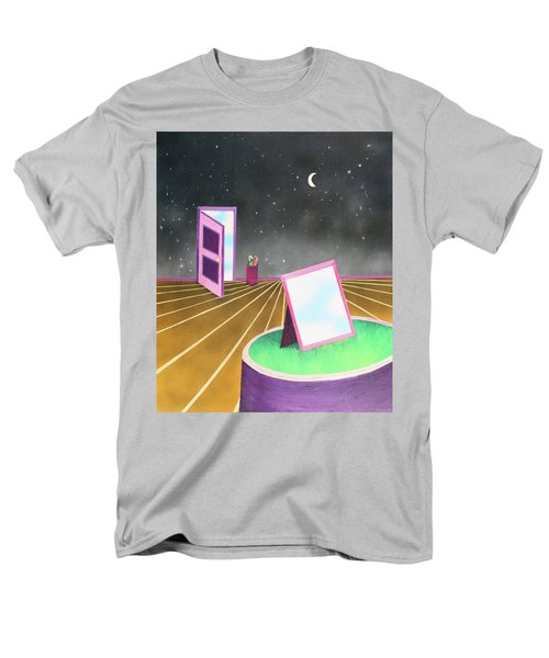 Men's T-Shirt  (Regular Fit) featuring the painting Night by Thomas Blood