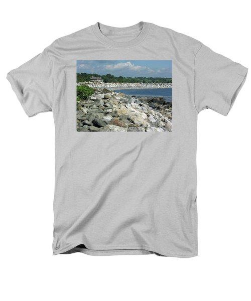 Northeast Us, Atlantic Coast, Rye Nh Men's T-Shirt  (Regular Fit) by Betty Denise