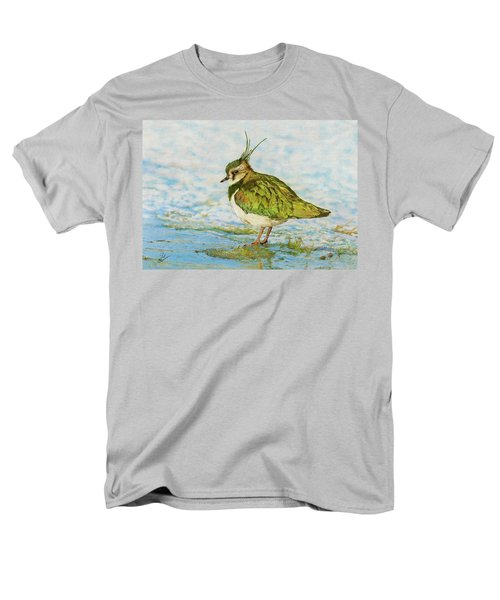 Northern Lapwing Men's T-Shirt  (Regular Fit) by John Birnie