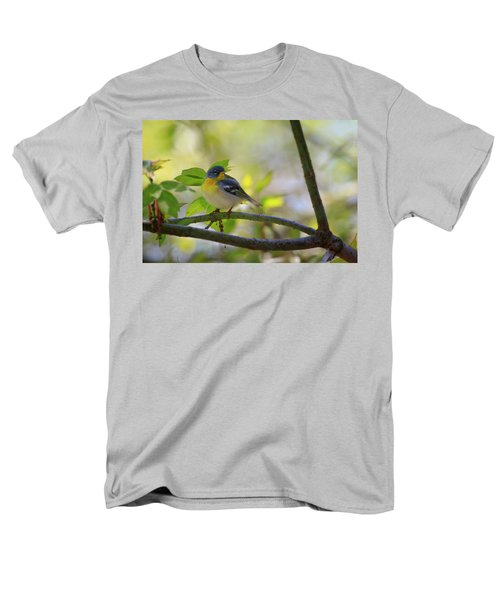 Northern Parula Men's T-Shirt  (Regular Fit) by Gary Hall