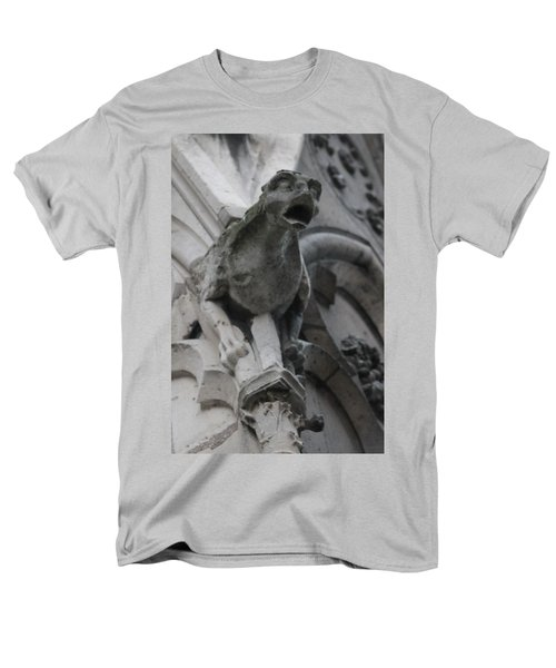 Notre Dame Gargoyle Grotesque Men's T-Shirt  (Regular Fit)