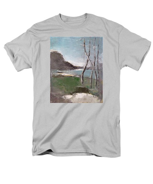 Men's T-Shirt  (Regular Fit) featuring the painting November by Becky Kim