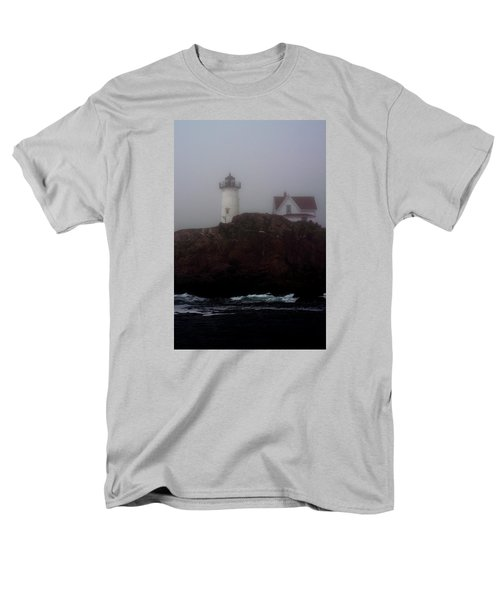 Men's T-Shirt  (Regular Fit) featuring the photograph Fog Lifting by Richard Ortolano