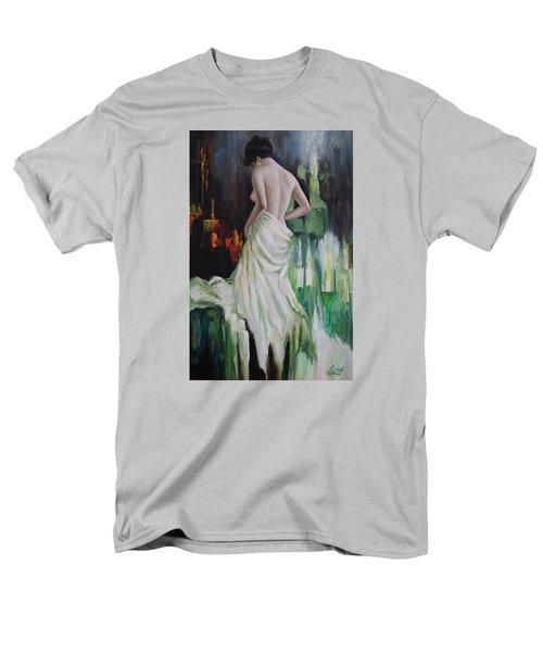 Oil Msc 016 Men's T-Shirt  (Regular Fit) by Mario Sergio Calzi