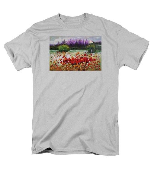 Oil Msc 031 Men's T-Shirt  (Regular Fit) by Mario Sergio Calzi