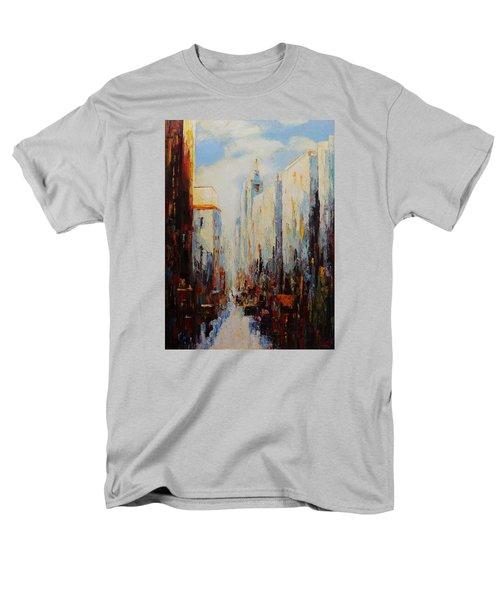 Oil Msc 059 Men's T-Shirt  (Regular Fit) by Mario Sergio Calzi