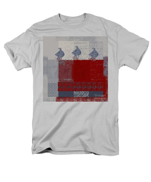 Men's T-Shirt  (Regular Fit) featuring the digital art Oiselot - J106161103_02bb by Variance Collections