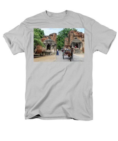 Old Bagan Men's T-Shirt  (Regular Fit) by Werner Padarin