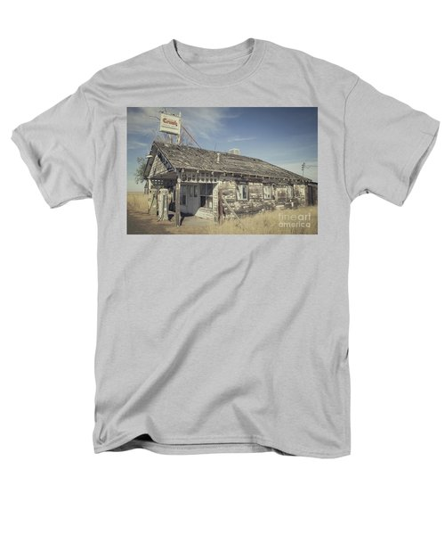 Old Gas Station Men's T-Shirt  (Regular Fit) by Robert Bales