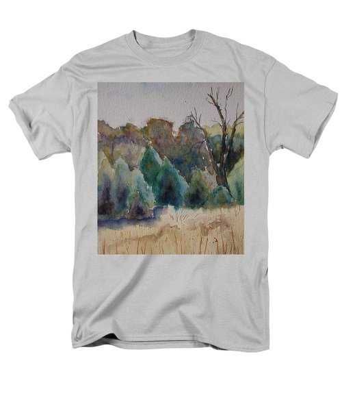 Old Growth Forest Men's T-Shirt  (Regular Fit) by Patsy Sharpe