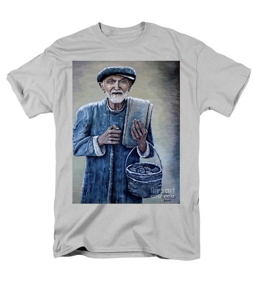 Old Man With His Stones Men's T-Shirt  (Regular Fit) by Judy Kirouac