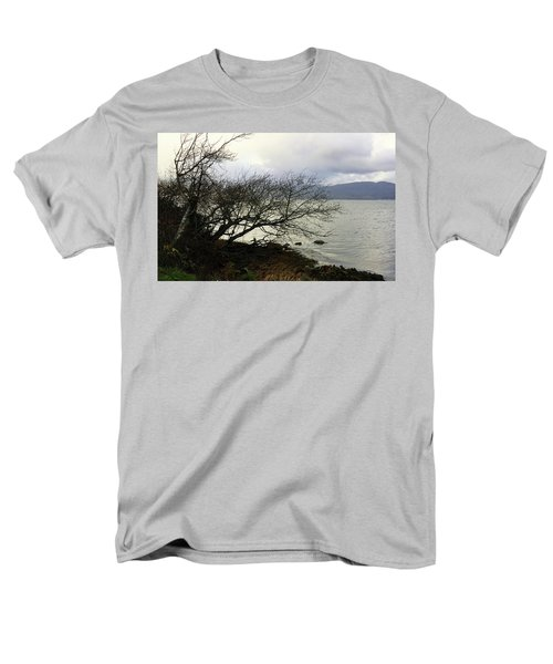 Men's T-Shirt  (Regular Fit) featuring the photograph Old Tree By The Bay by Chriss Pagani