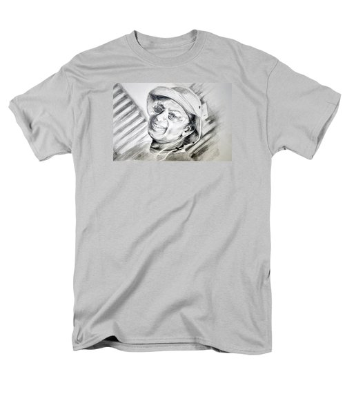 Men's T-Shirt  (Regular Fit) featuring the drawing Ollie Christmas by Antonia Citrino