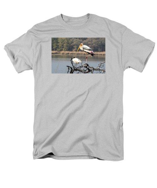 On One Leg Men's T-Shirt  (Regular Fit) by Pravine Chester