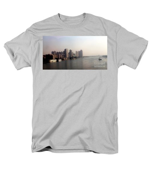 Men's T-Shirt  (Regular Fit) featuring the photograph On The Nile River by Jason Sentuf