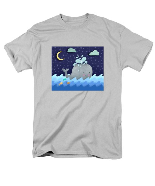 One Wonderful Whale With Fabulous Fishy Friends Men's T-Shirt  (Regular Fit) by Little Bunny Sunshine