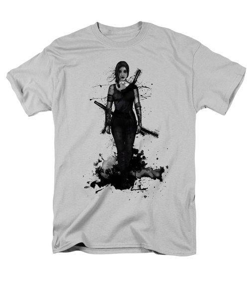 Men's T-Shirt  (Regular Fit) featuring the digital art Onna Bugeisha by Nicklas Gustafsson