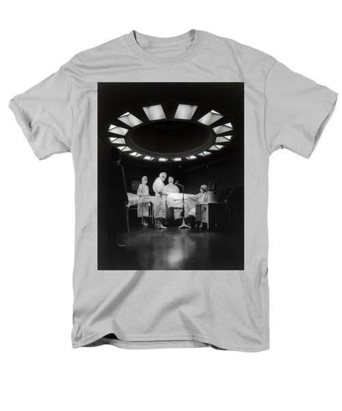 Men's T-Shirt  (Regular Fit) featuring the photograph Operating Room Theater 1933 by Daniel Hagerman