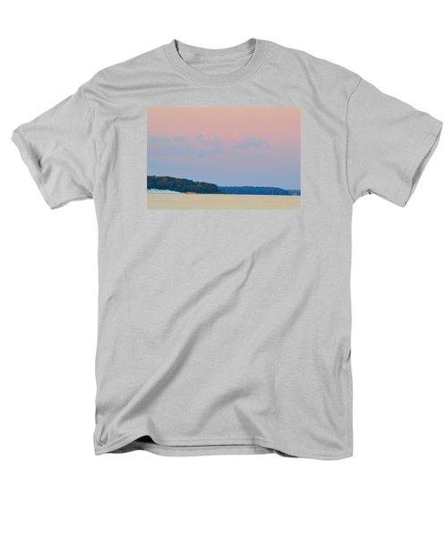 Men's T-Shirt  (Regular Fit) featuring the photograph Orange Speedboat 2  by Lyle Crump