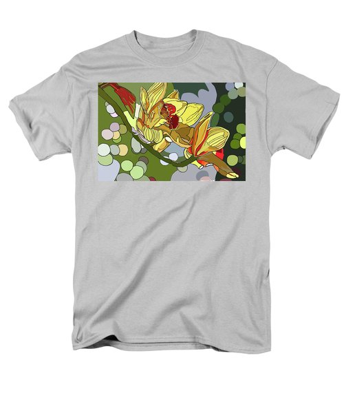 Orchids In Sunlight Men's T-Shirt  (Regular Fit) by Jamie Downs