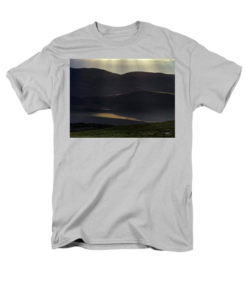 Men's T-Shirt  (Regular Fit) featuring the photograph Oregon Mountains 1 by Leland D Howard