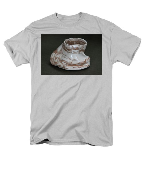 Organic Marbled Clay Ceramic Vessel Men's T-Shirt  (Regular Fit) by Suzanne Gaff