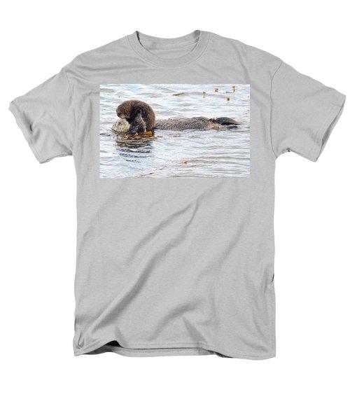 Otter Love Men's T-Shirt  (Regular Fit) by AJ Schibig