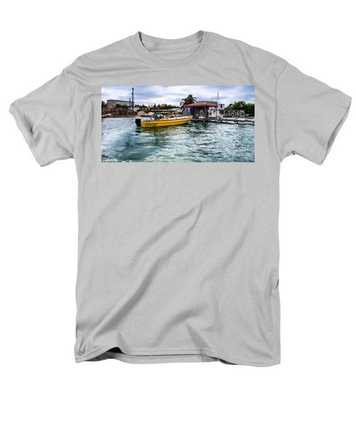 Men's T-Shirt  (Regular Fit) featuring the photograph Out On Bail by Lawrence Burry