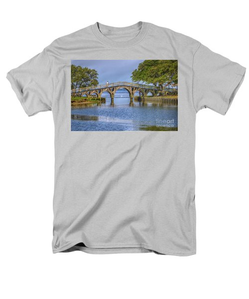 Outer Banks Whalehead Club Bridge  Men's T-Shirt  (Regular Fit) by Randy Steele