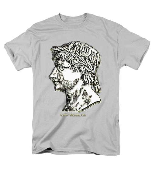Men's T-Shirt  (Regular Fit) featuring the digital art Ovid by Asok Mukhopadhyay