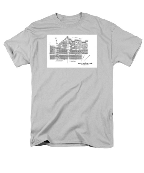 Pacific Grove May 7 1887 Men's T-Shirt  (Regular Fit) by California Views Mr Pat Hathaway Archives