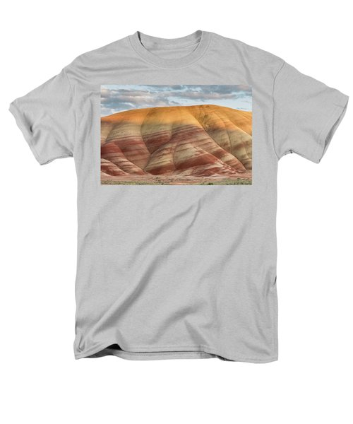 Men's T-Shirt  (Regular Fit) featuring the photograph Painted Hill At Last Light by Greg Nyquist
