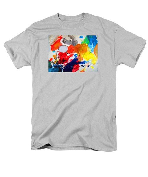 Men's T-Shirt  (Regular Fit) featuring the photograph Palette by Barbara McDevitt