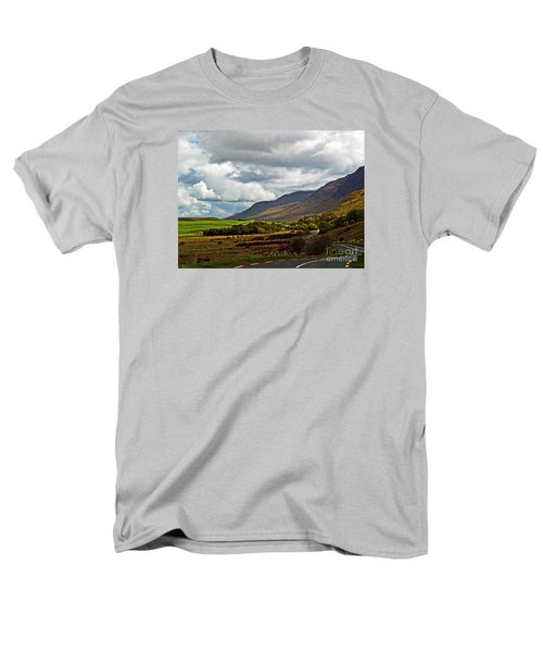 Paradise In Ireland Men's T-Shirt  (Regular Fit) by Patricia Griffin Brett
