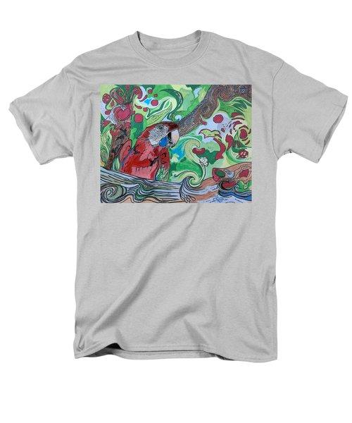 Parrot Kaleidoscope  Men's T-Shirt  (Regular Fit)
