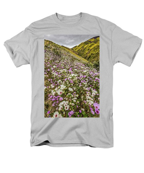 Men's T-Shirt  (Regular Fit) featuring the photograph Pastel Super Bloom by Peter Tellone