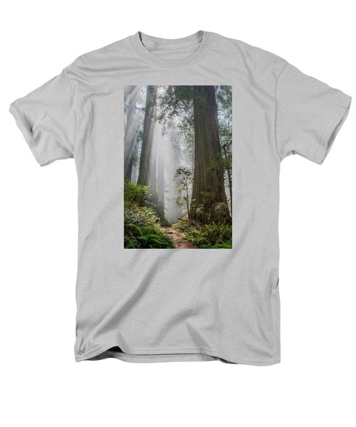 Path Through The Light Men's T-Shirt  (Regular Fit) by Greg Nyquist