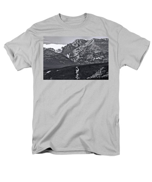 Men's T-Shirt  (Regular Fit) featuring the photograph Path To Longs Peak by Dan Sproul