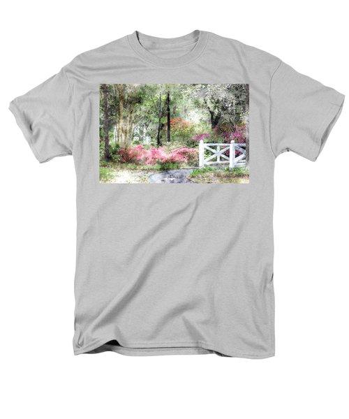Path To The Bridge Men's T-Shirt  (Regular Fit) by Donna Bentley