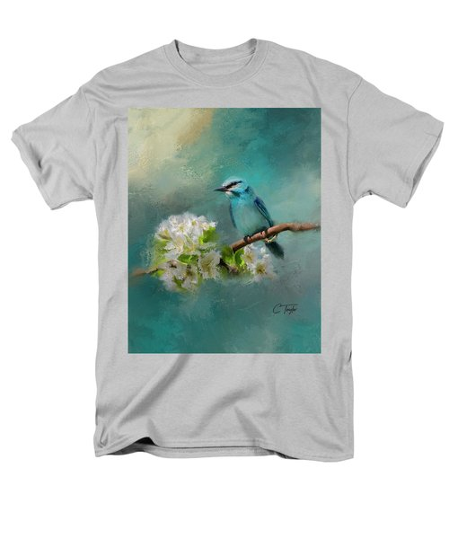 Peaceful Symphony  Men's T-Shirt  (Regular Fit) by Colleen Taylor