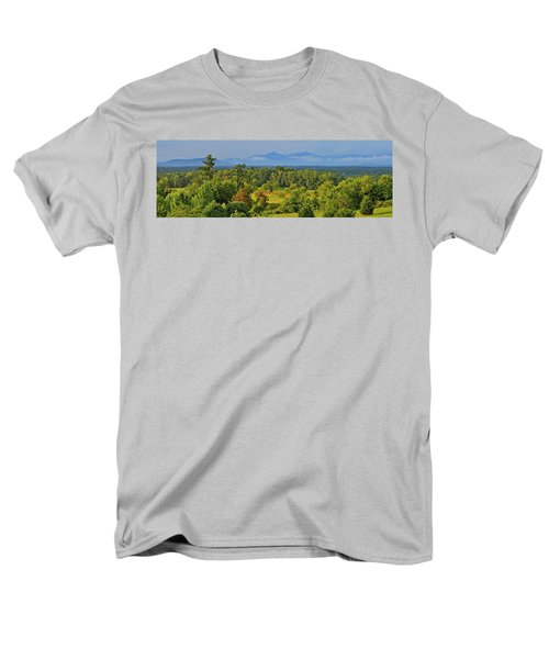Peaks Of Otter After The Rain Men's T-Shirt  (Regular Fit) by The American Shutterbug Society