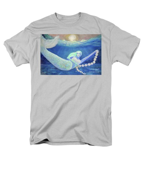 Pearl Of The Sea Men's T-Shirt  (Regular Fit) by Lyric Lucas