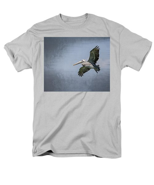 Men's T-Shirt  (Regular Fit) featuring the photograph Pelican Flight by Carolyn Marshall