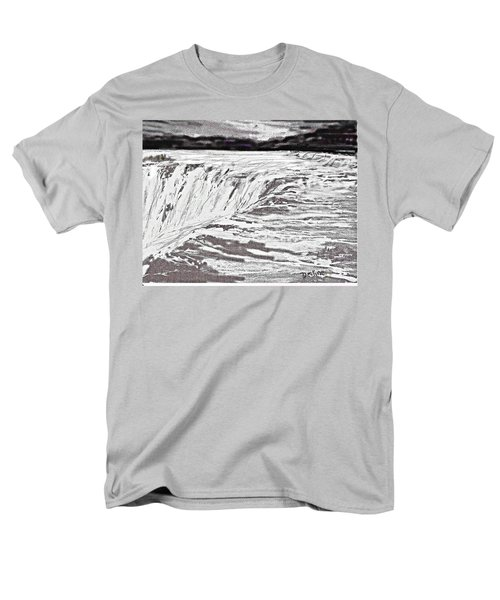Pencil Falls Men's T-Shirt  (Regular Fit)