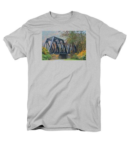 Pennsylvania Bridge Men's T-Shirt  (Regular Fit) by Cindy Manero