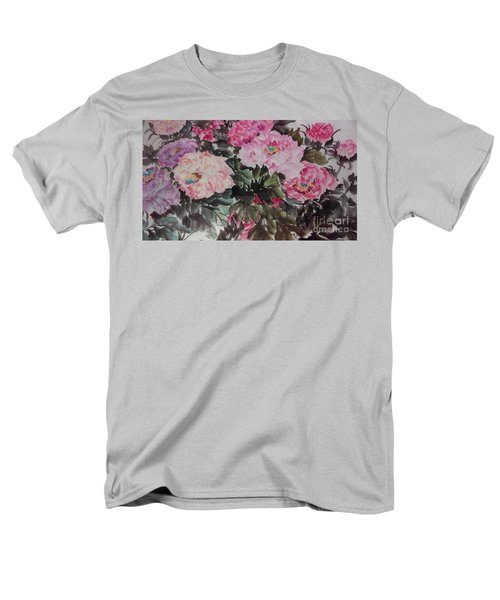 Peony20170126_2 Men's T-Shirt  (Regular Fit) by Dongling Sun
