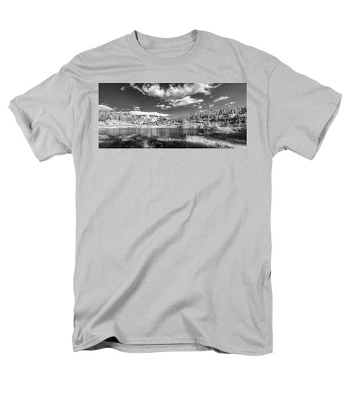 Men's T-Shirt  (Regular Fit) featuring the photograph Perfect Lake At Mount Baker by Jon Glaser