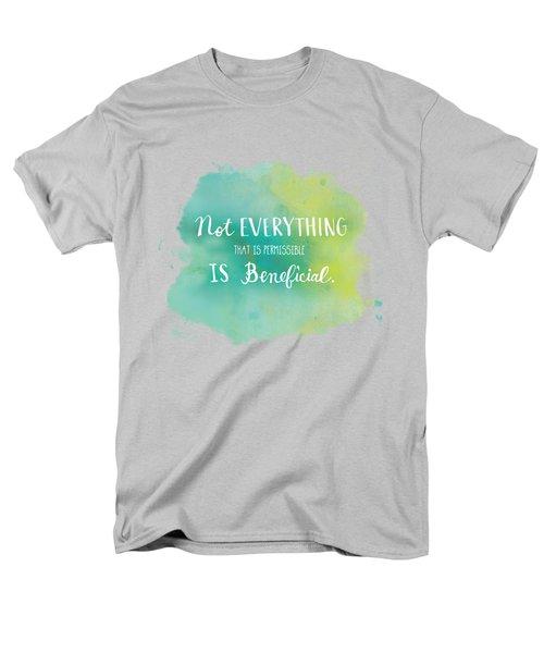 Permissible Men's T-Shirt  (Regular Fit) by Nancy Ingersoll